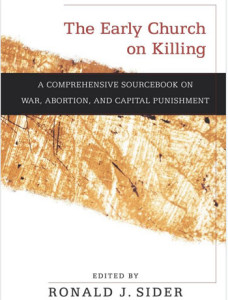 The Early Church on War and Killing-Cover