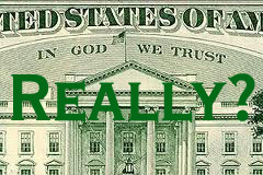 In God We Trust - REALLY?